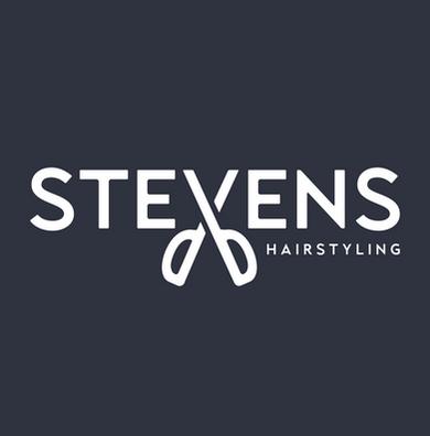 Stevens hairstyling logo