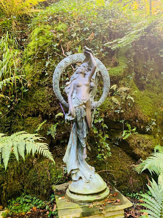 A beautiful trip to St Nectans Glen to see the Goddess and feel the magic in the waters