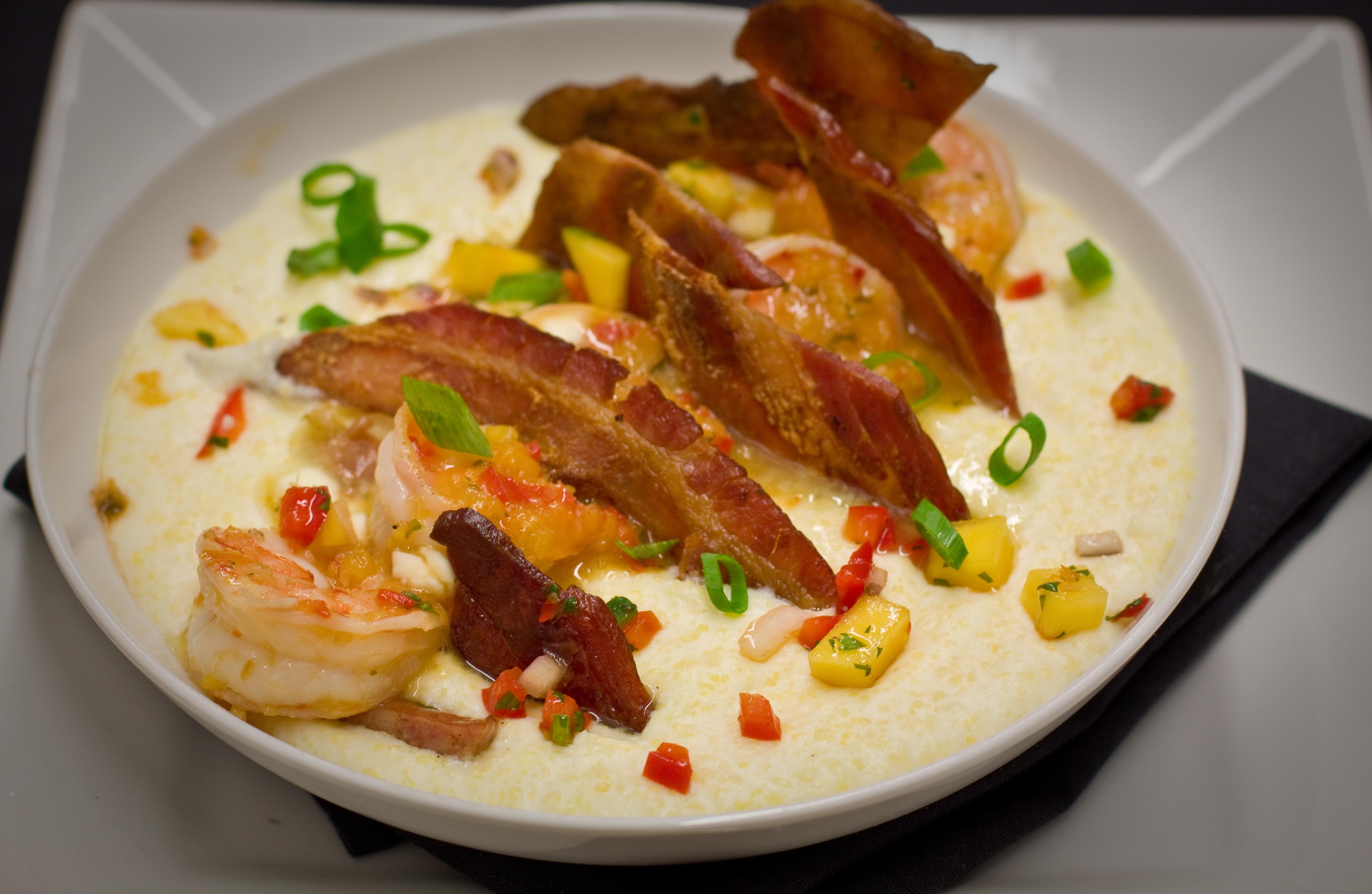 Swine Shrimp & Grits