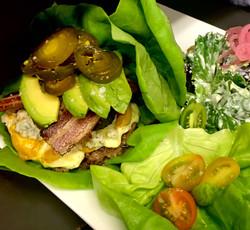 Ox Burger on wrap