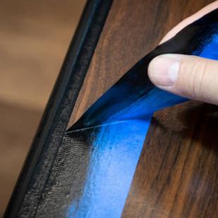 Percision Interior Trim Painting