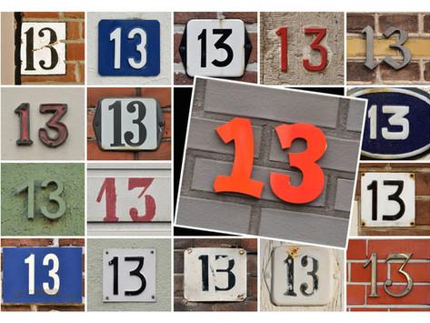 Несчастливое число 13? Unlucky Number 13?