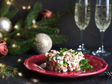 Новогодние салаты | New Year Salads