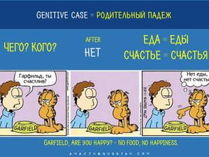 A little bit of grammar: GENITIVE CASE. РОДИТЕЛЬНЫЙ ПАДЕЖ