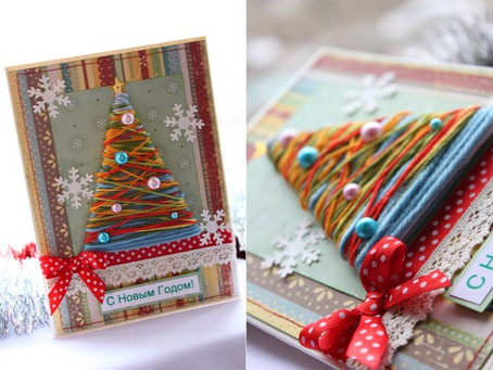 Russian Christmas and New Year Holiday Cards