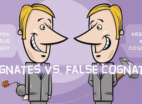 Cognates vs. False Cognates