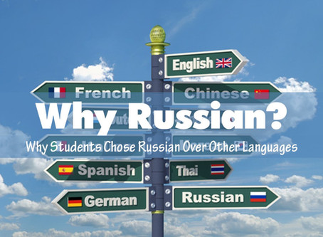 Why Russian?
