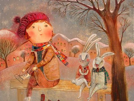 Зимние картины Анны Силивончик