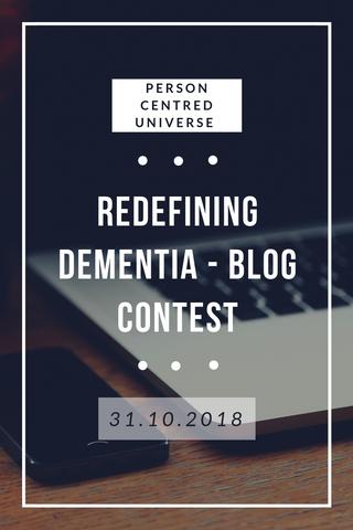 Redefining Dementia Contest
