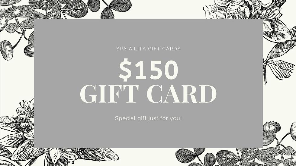 Gift Card - $150.00