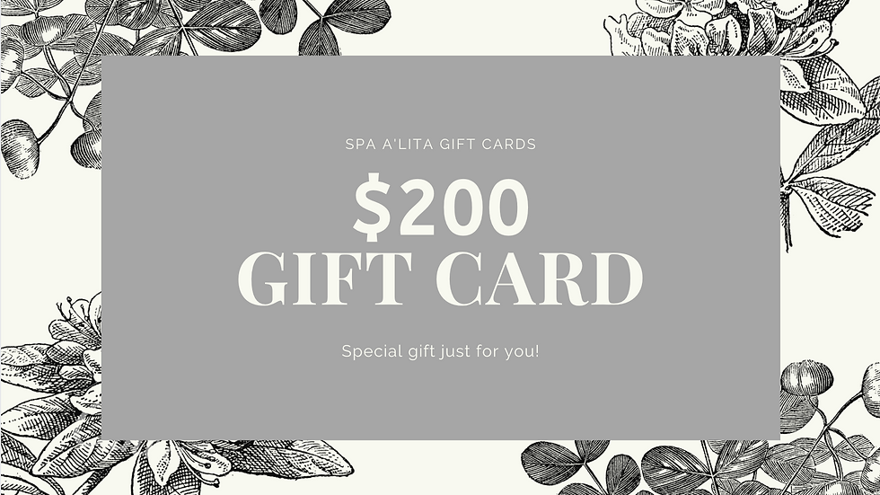 Gift Card - $200.00