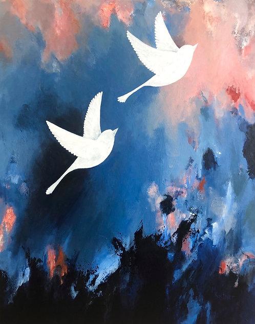 Breakthrough - Original painting