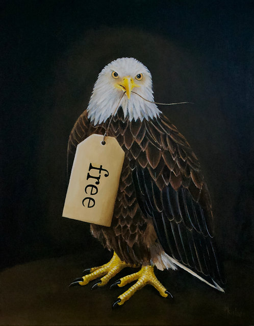 Free Indeed Original Painting
