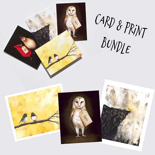 Card and Print Bundle