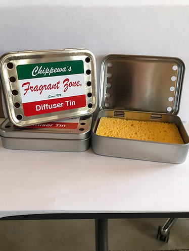 Rectangular Diffuser Tin