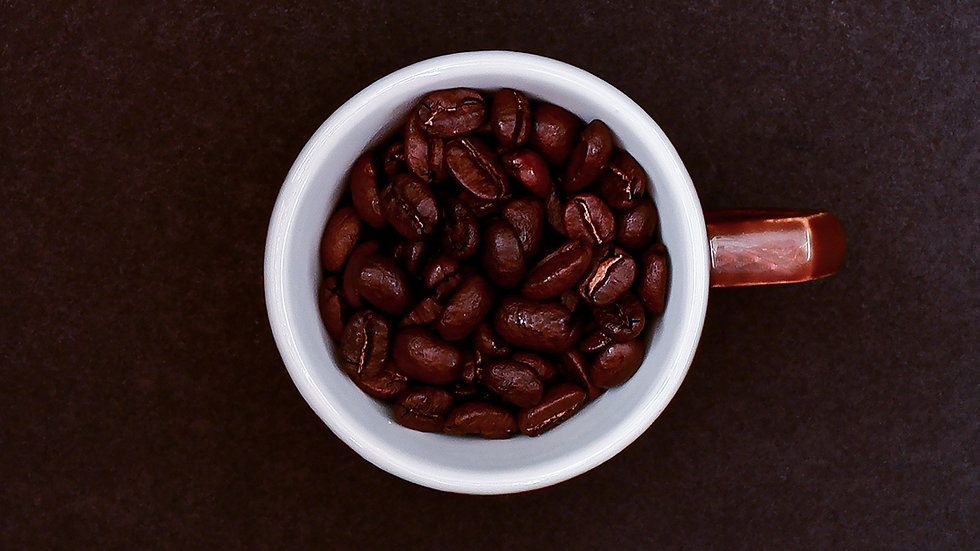 certified fair-trade organic coffee beans