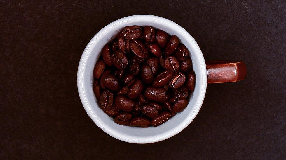certified fair-trade organic coffee beans