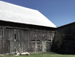 The barns on the property