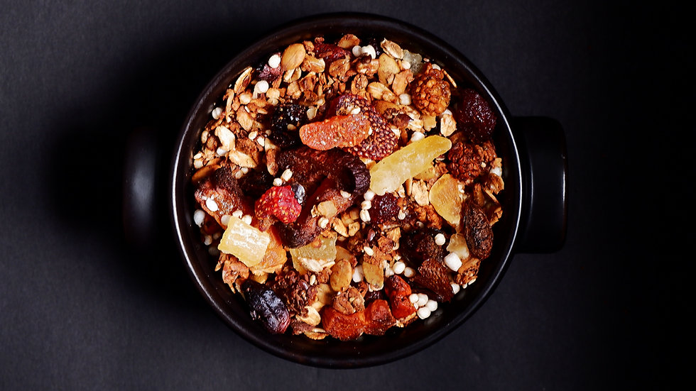 maple spice granola