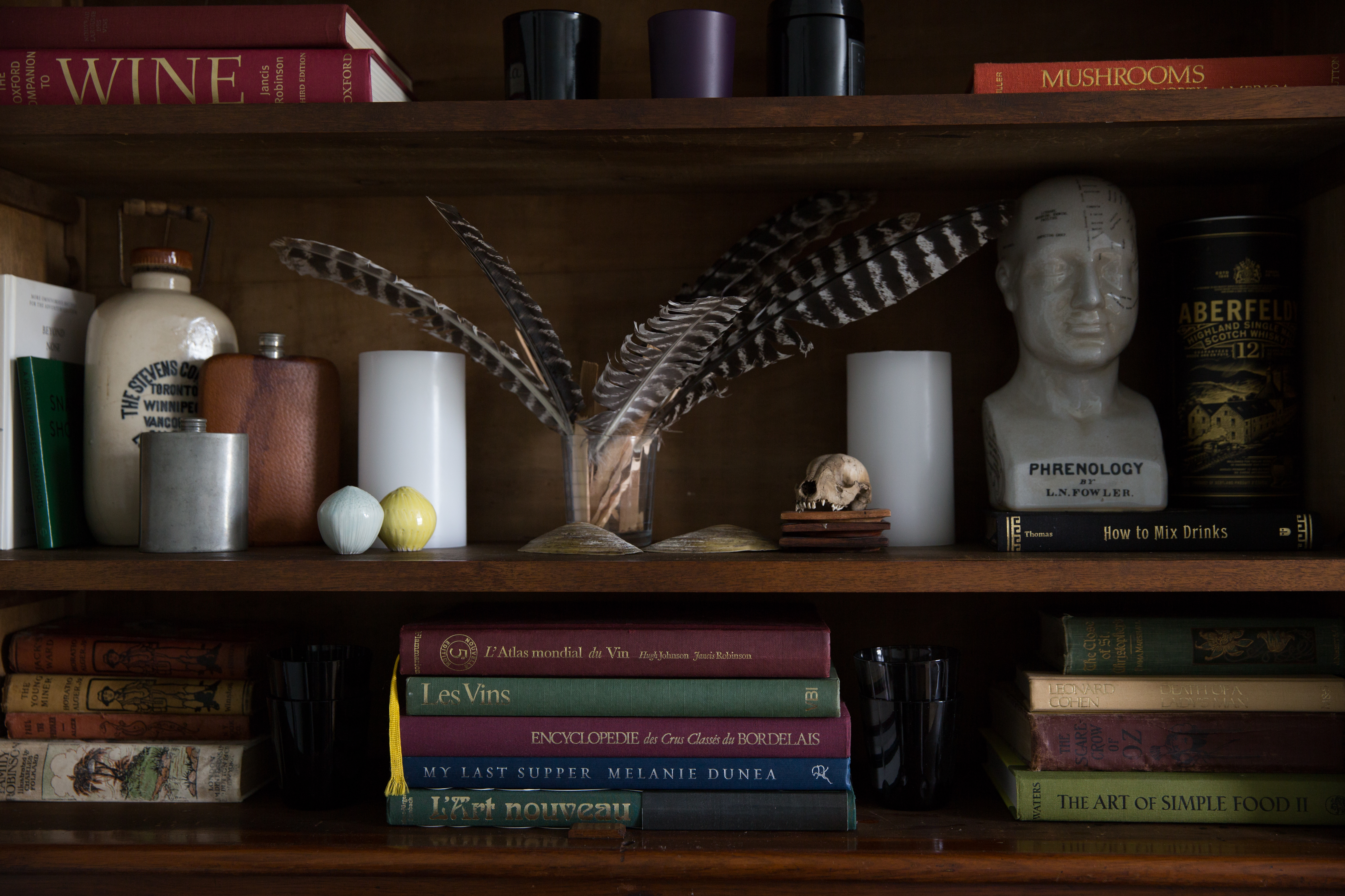 Living room curiosities