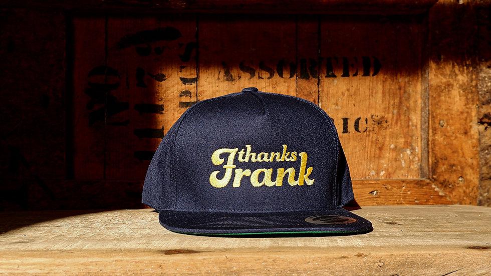 thanks frank caps