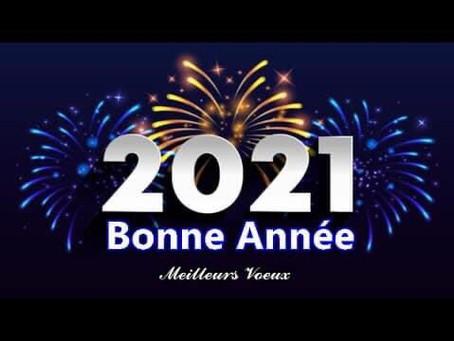 Nouvelle année 2021 !!!