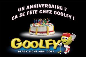 Ton anniversaire au GOOLFY Mulhouse