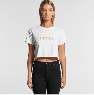 CUTTA© Official PREMIUM Ladies Cropped T-Shirt