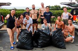 Beach and Ocean Cleanup