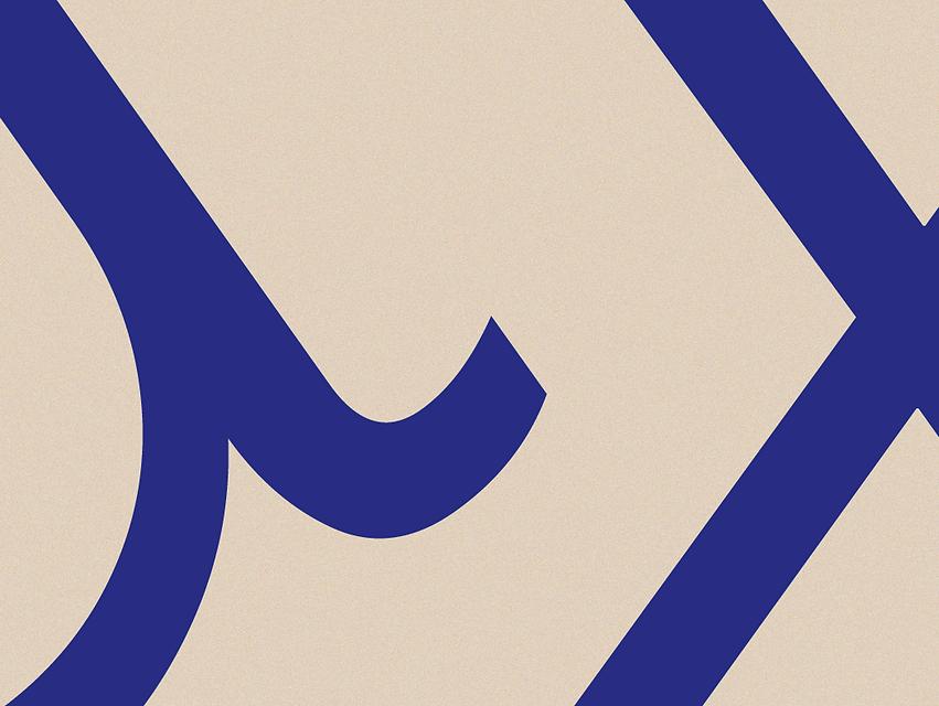 Buchstabenfragmente aus dem Logo