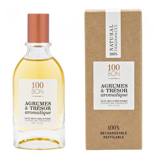 100BON - AGRUMES & TRESOR AROMATIQUE - COLOGNE - 50ml