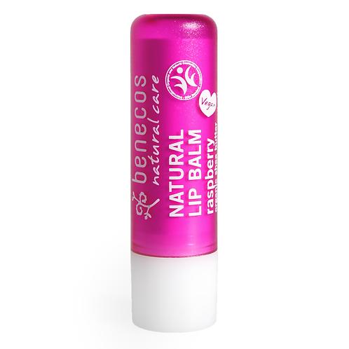 BENECOS - Baume à lèvres - Parfum Framboise - 4,7gr