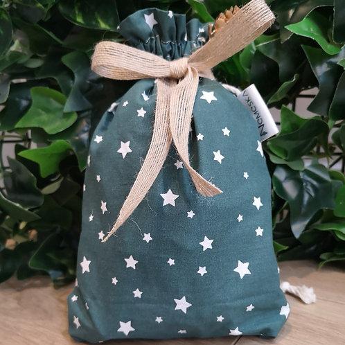 NEMESKA - Pochon coton imprimé étoile