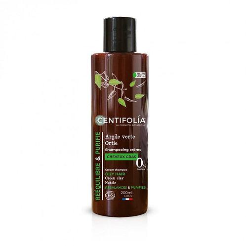 CENTIFOLIA -Shampoing Crème Cheveux Gras - 200ml