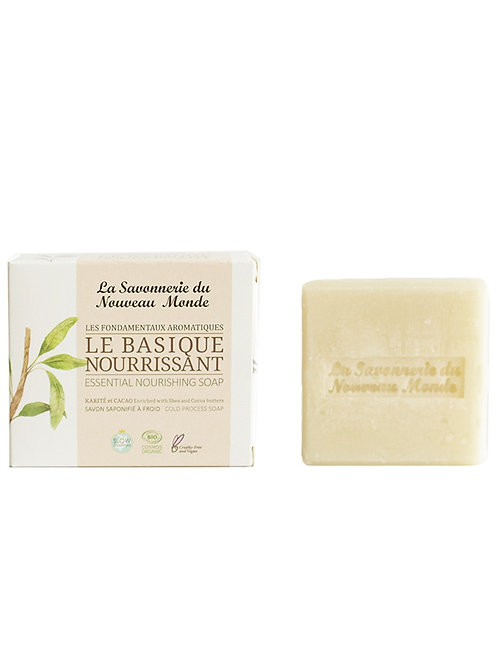 LA SAVONNERIE DU NOUVEAU MONDE - Le Basique Nourrissant - 100gr