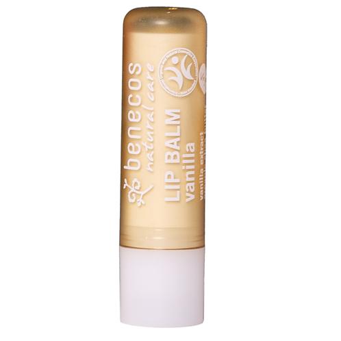 BENECOS - Baume à lèvres - Parfum Vanille - 4,7gr