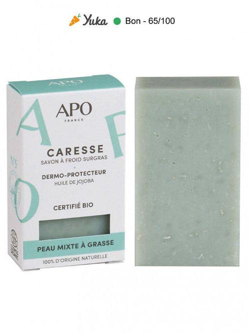 APO - CARESSE - Peau Mixte à Grasse - SAVON A FROID SURGRAS - 100gr