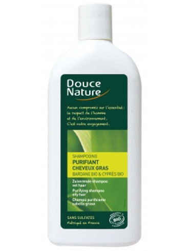 DOUCE NATURE - Shampoing Purifiant Cheveux Gras - 300ml