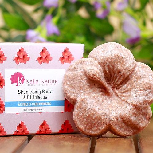 KALIA NATURE - Shampoing barre à l'Huile et Fleurs d'Hibiscus 60gr