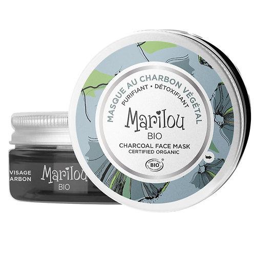 MARILOU BIO  - Masque au Charbon végétal - 75ml