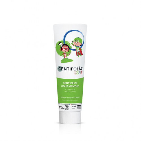 CENTIFOLIA - Dentifrice Spéciale Enfants - Goût Menthe - 50ml