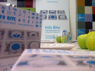 #WITH - InfoBite exhibit during the Milano Food Week