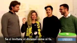Rai - National television: Revoilution at Il Posto Giusto