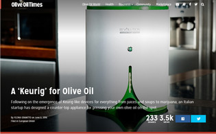 RevOILution on Olive Oil Times