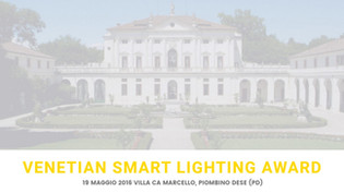 Finalists with one of the Spacetime at the Venetian Smart Lighting Award