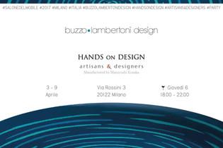 Milan Design Week - our designs for Hands on Design