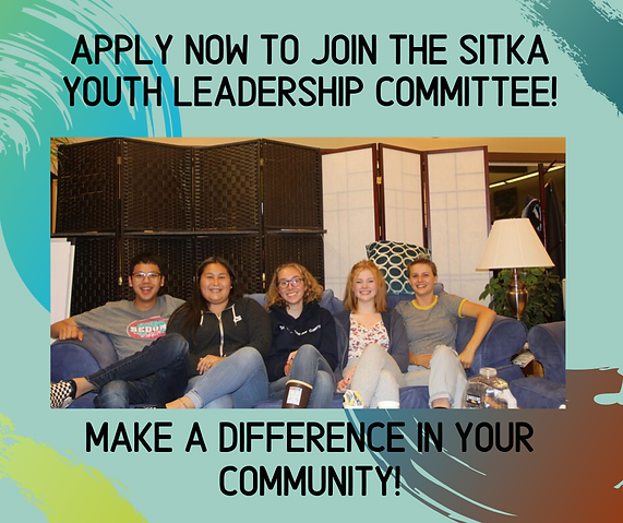 Apply now to join the Sitka Youth Leader