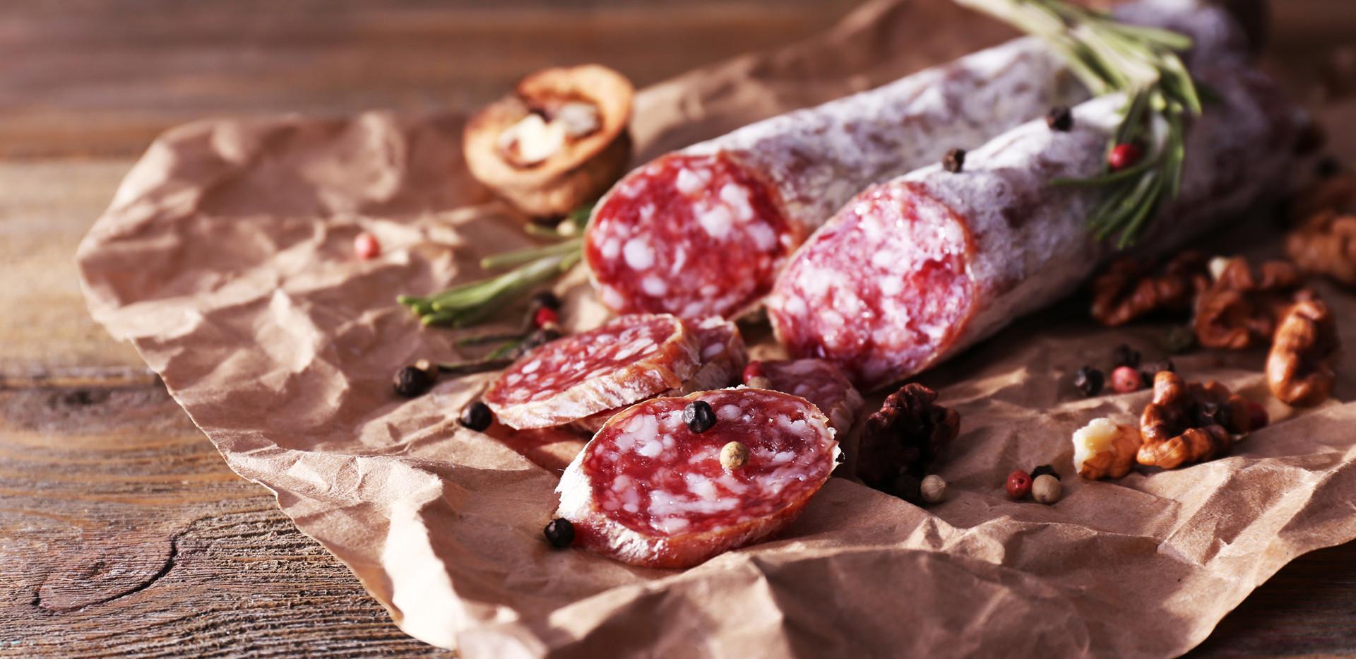 Doorgewinterde vleeswaren