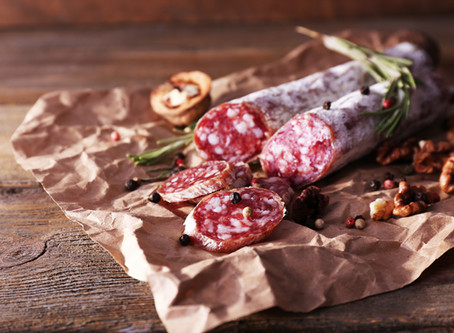 Italian charcuterie for a fireplace picnic