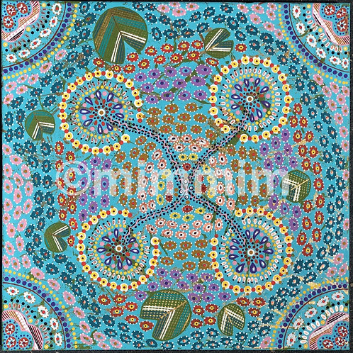 Freshwater Billabong painting by Mim Cole